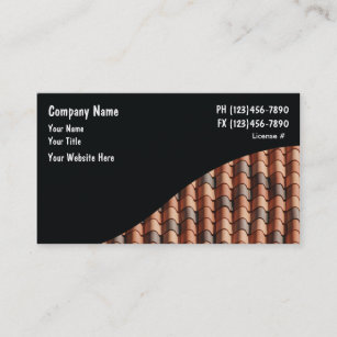 roofing business cards - Roofing Business Cards