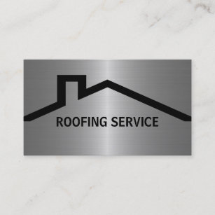 Roofing business cards templates zazzle roofing business cards reheart Gallery