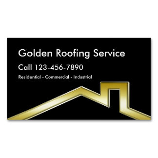 Roofing Business Magnets Magnetic Business Cards (Pack Of 25)