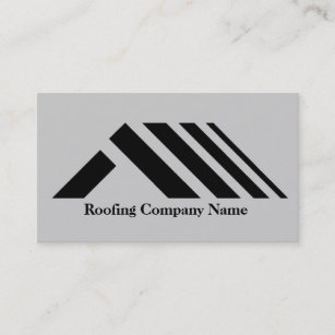 roofing company business card - Roofing Business Cards