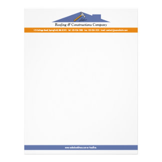 Roofing/Constructions Letterhead