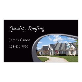 Roofing Double-Sided Standard Business Cards (Pack Of 100)
