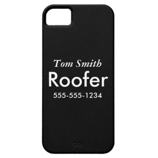 Roofing iPhone 5 Case