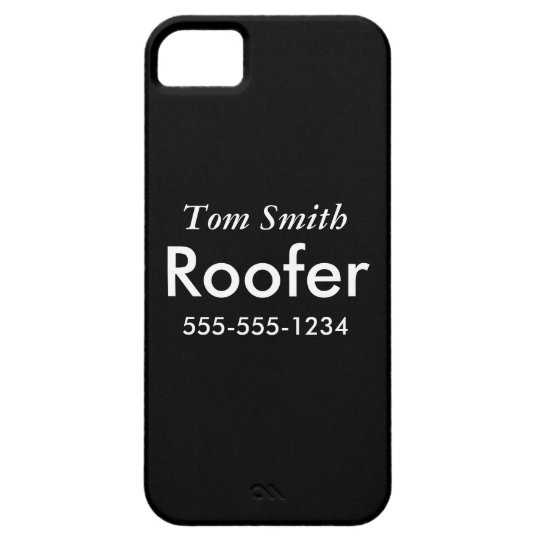 Roofing iPhone SE/5/5s Case
