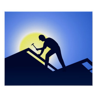 Roofing Poster