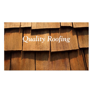 Roofing Shingle Business Cards