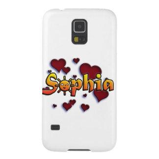 roofridge name Sophia Galaxy S5 Case