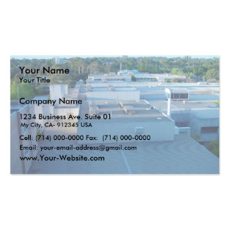 Roofs Of Sir Charles Gairdner Hospital Aka Queen E Double-Sided Standard Business Cards (Pack Of 100)