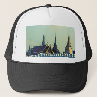 Roofs of the Grand Palace in Bangkok Thailand Trucker Hat