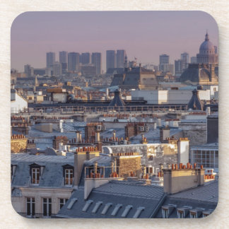 Roofs off Paris Drink Coaster