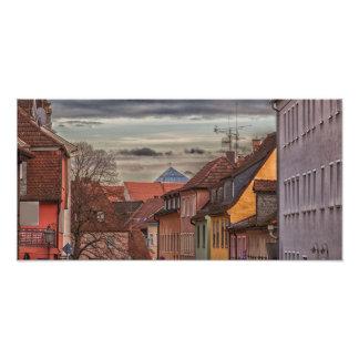 Roofs Photo Print