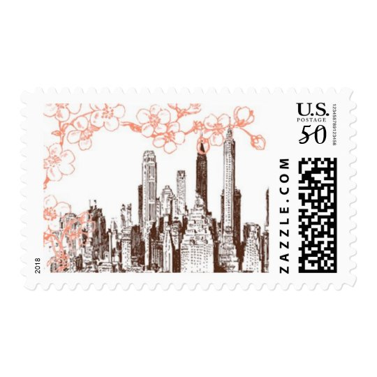 Rooftop Garden A by Ceci New York Postage
