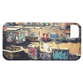 Rooftop Graffiti in Chinatown iPhone 5 Cases