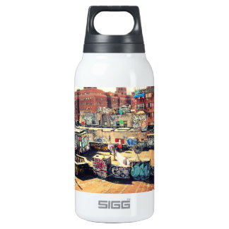 Rooftop Graffiti in Chinatown Insulated Water Bottle