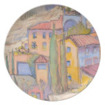 Rooftop Party, Provence Decorative Plate, Collect Dinner Plate