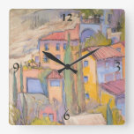 Rooftop Party Wall Clock