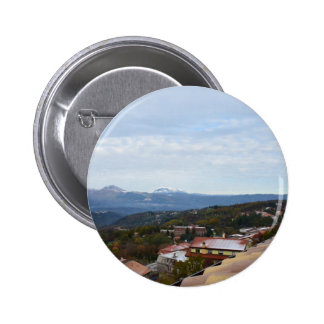 Rooftop View From Mormanno Pinback Button