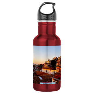 Rooftops in Mexico 18oz Water Bottle