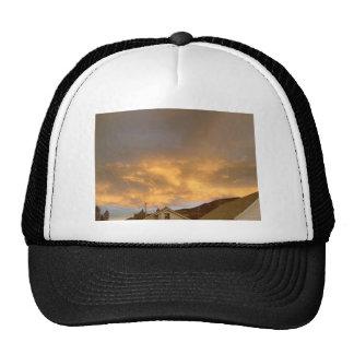 Rooftops Sunset Trucker Hat