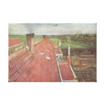 Rooftops, View from the Atelier The Hague, 1882 Canvas Print