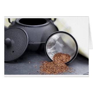 Rooibos Tea Greeting Card