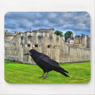 Rook and the Tower of London, England Mouse Pad