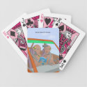 Rookie Crash Test Dummies Playing Cards