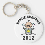 Rookie Grandma 2012 Keychain