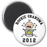Rookie Grandma 2012 Magnet