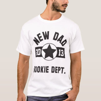 Rookie New Dad T-Shirt