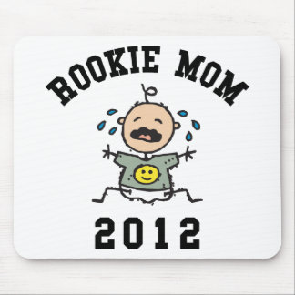 Rookie New Mom 2012 Mouse Pad