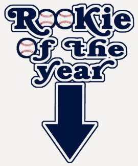 Rookie of the Year Maternity Top Tee Shirts