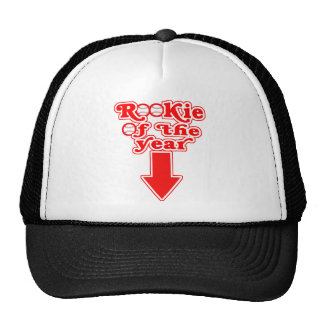 Rookie of the Year Maternity Top Trucker Hat