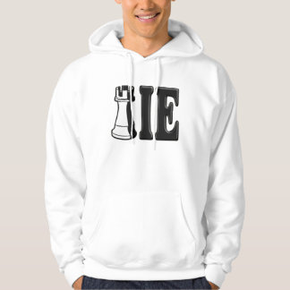 ROOKIE (Rook Chess Piece + ie) Hooded Sweatshirt