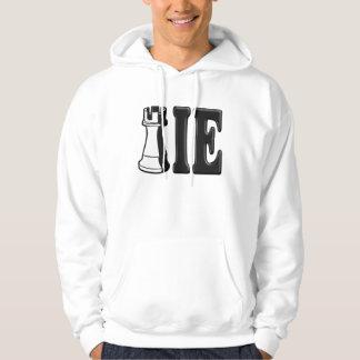 ROOKIE (Rook Chess Piece + ie) Hooded Sweatshirt