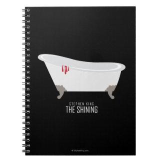 Room 217 Bathtub Spiral Notebook