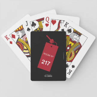 Room 217 Keys Playing Cards