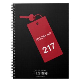 Room 217 Keys Spiral Notebook