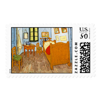 Room at Arles <br> Postage Stamp