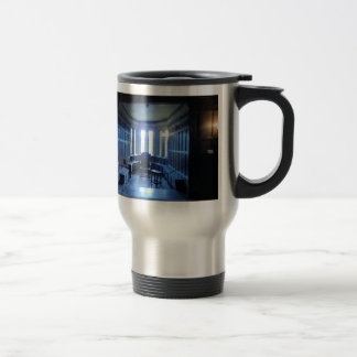 Room at Haddon Hall in Derbyshire 15 Oz Stainless Steel Travel Mug