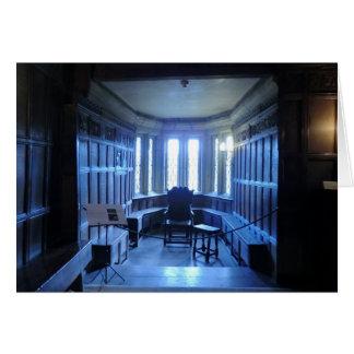 Room at Haddon Hall in Derbyshire Card