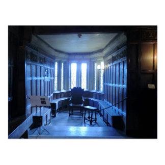 Room at Haddon Hall in Derbyshire Postcard