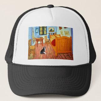 Room - Boston Terrier #4 Trucker Hat