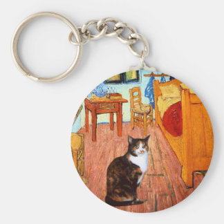Room - Calico cat Keychain