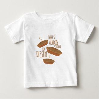 Room For Dessert Baby T-Shirt