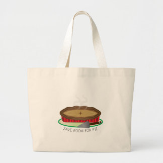 Room For Pie Canvas Bag