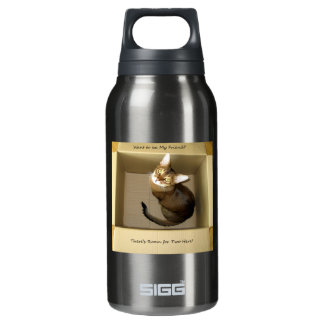 Room for Two Insulated Water Bottle