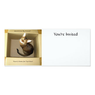 Room for Two 4x9.25 Paper Invitation Card