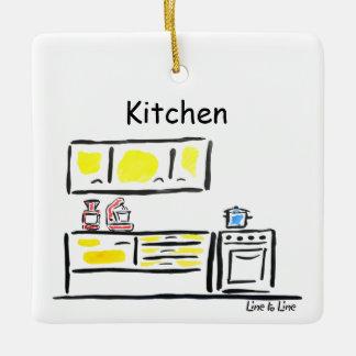 room kitchen ceramic ornament