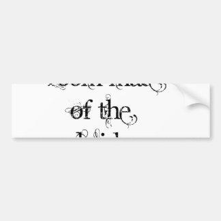 Room Mate of the Bride Bumper Sticker